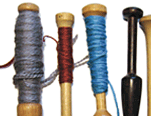 Tapestry Bobbins Before & After
