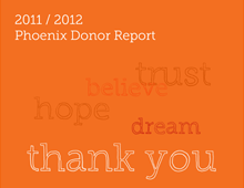 Phoenix Donor Report 2011 / 2012