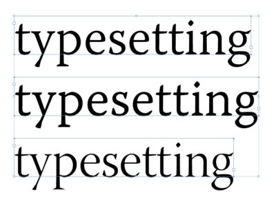 The art of book typesetting